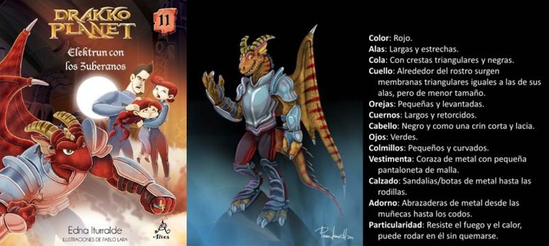 Elektrun —el dragón del fuego— regresa a la Kru-urk para averiguar sobre el parecido de la hija de la emperatriz con Riaglo, la princesa de la leyenda. El suspenso llega al máximo cuando Elektrun vuelve a la cueva en el reino de Tardón acompañado de unos importantes desertores zuberanos que huyen del general Vinchez, líder de los invasores. Las incógnitas estás por aclararse. ¿Quién es la emperatriz? ¿Quiénes fueron los seres originales que poblaron el planeta Drakko y destruyeron sus recursos naturales?