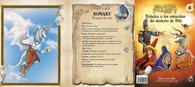 En su lucha contra el mal, los Doce de Fuego necesitan unir a los demás habitantes de Drakko Planet. Kohaku —el dragón del aire— va al desierto de Kiir en busca de los Al-belsos y encuentra un enigma: ¿Quién es la mítica princesa Riaglo y por qué su imagen se parece a la hija de la emperatriz de los zuveranos?.