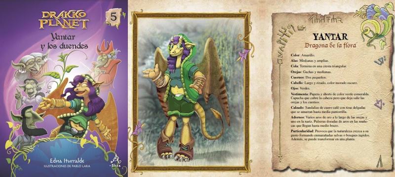 Los Doce de Fuego continúan escondidos en la cueva del reino de los enanos protegiendo la urna con la Perla de la Sabiduría. En esta aventura, Yantar —la dragona de la flora—es enviada a dialogar con los duendes rebeldes que no se han unido a los zuberanos. Allí descubre un misterio: la razón de su terror a los duendes. Después de vencer la magia negra del Mago Mosú, Yantar logra liberar al líder de los duendes buenos y así obtiene la promesa que lucharán del lado de Los Doce de Fuego.